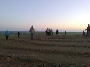 спираль горы Шаманки